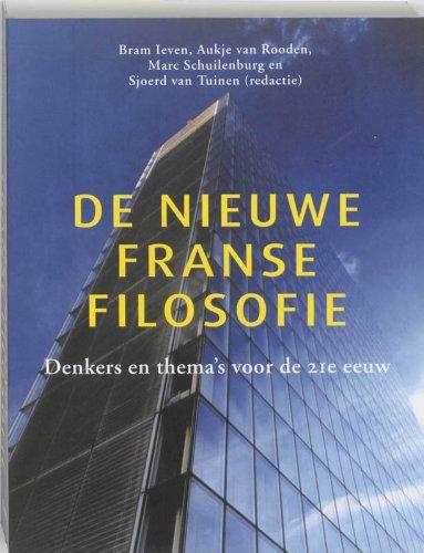 9789461050199: De nieuwe Franse filosofie: denkers en thema's voor de 21e eeuw