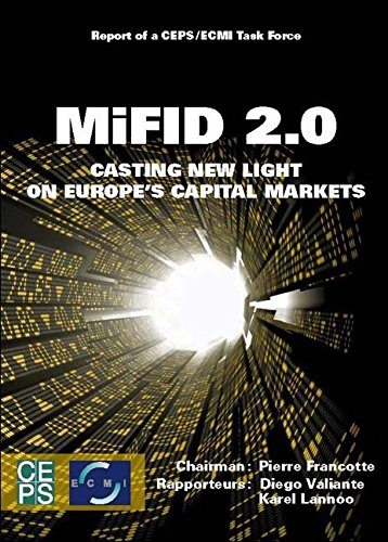 9789461380814: MiFID 2.0: Casting New Light on Europe's Capital Markets