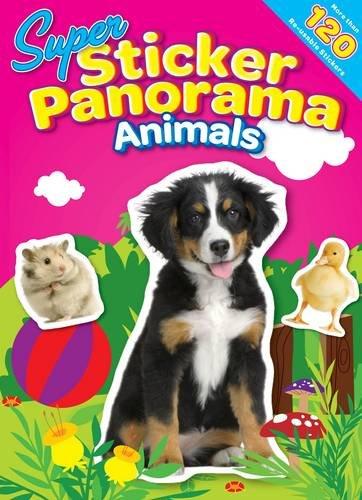 Super Sticker Panorama Animals