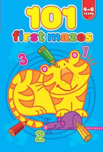 101 First Mazes 4-6 years (101 First Puzzles): Yoyo Books