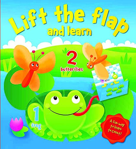 Lift the Flap and Learn: Numbers