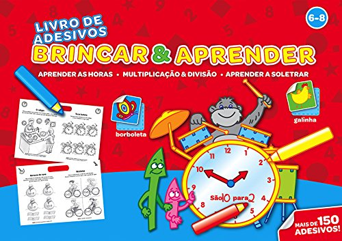 Brincar & Aprender 6-8: Aprender as Horas,: Yoyo Books