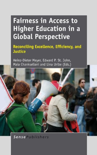9789462092297: Fairness in Access to Higher Education in a Global Perspective: Reconciling Excellence, Efficiency, and Justice