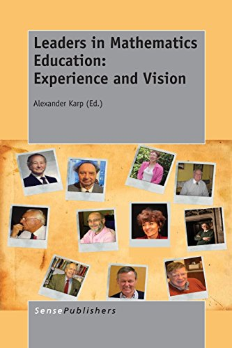 9789462097179: Leaders in Mathematics Education: Experience and Vision