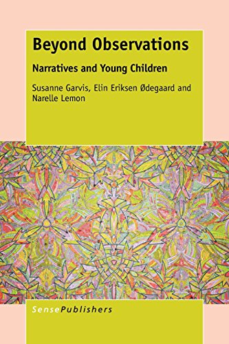 9789462099661: Beyond Observations: Narratives and Young Children