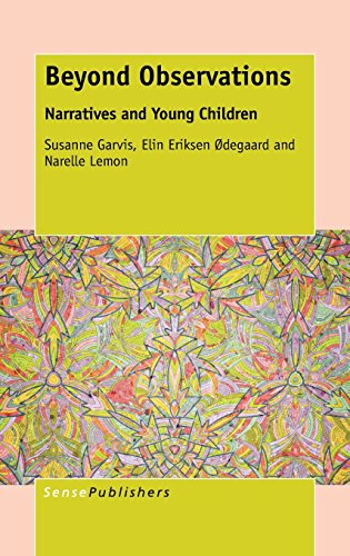 9789462099678: Beyond Observations: Narratives and Young Children