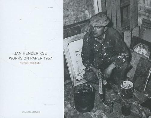 Jan Henderikse: works on paper 1957: Melissen, Antoon