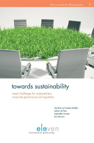 Towards Sustainability: Major Challenges for Corporate Law, Corporate Governance and Regulation (...