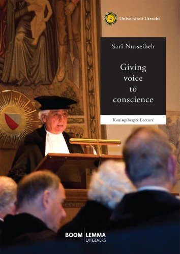 9789462363571: Giving voice to conscience (Koningsbergerlezingen)