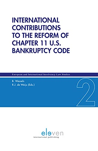 9789462366060: International Contributions to the Reform of Chapter 11 U.S. Bankruptcy Code