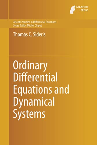 9789462390201: Ordinary Differential Equations and Dynamical Systems (Atlantis Studies in Differential Equations)