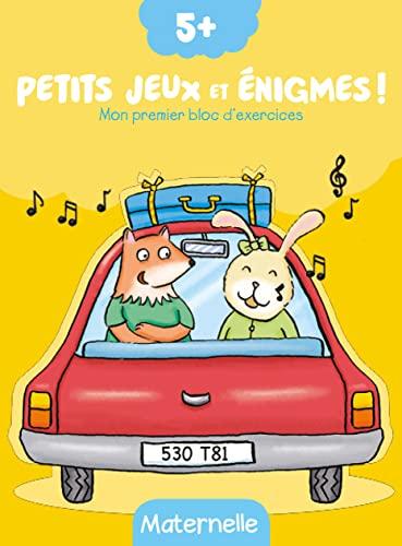9789462448957: Petits jeux et énigmes ! : Mon premier bloc d'exercices - Maternelle