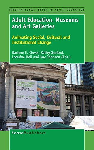9789463006866: Adult Education, Museums and Art Galleries: Animating Social, Cultural and Institutional Change