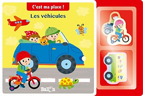 9789463070430: Les véhicules - Livre puzzle (C'est ma place !)