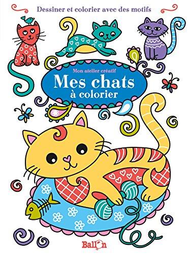 9789463071673: Mes chats à colorier