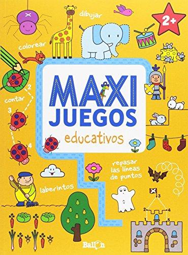 Maxi juegos educativos +2 (Paperback)