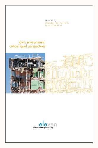 9789490947224: Law's Environment: Critical Legal Perspectives