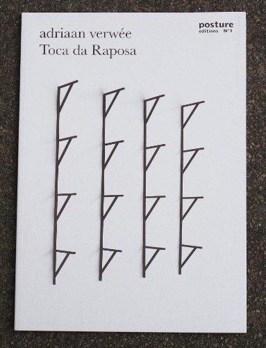 9789491262029: Toca da Raposa (Posture Editions)