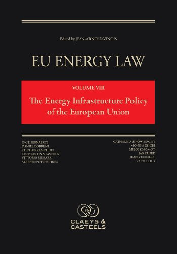 9789491673047: EU Energy Law Volume VIII, The Energy Infrastructure Policy of the European Union