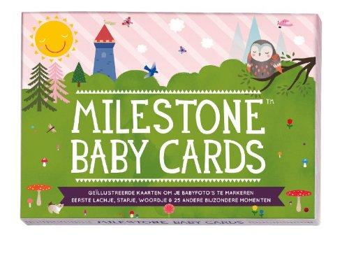 9789491931000: Milestone Baby Cards / druk 1: Het nieuwe nummer 1 baby cadeau