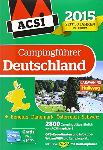 9789492023018: Europe Acsi G.Camping 2015 (All)Inklusive DVD-ROM