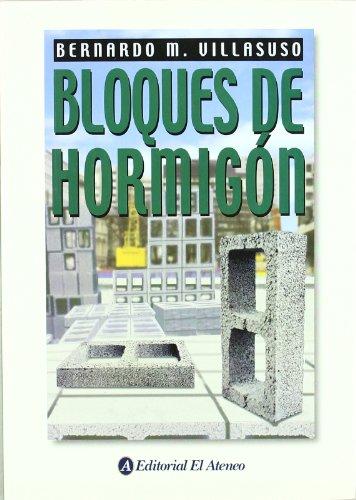 9789500253147: Bloques de hormigon/ Blocks of concrete (Spanish Edition)