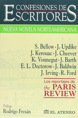 9789500284943: Confesiones de Escritores - Novela Norteamericana (Spanish Edition)