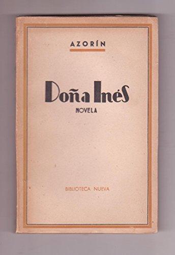 Dona Ines (Spanish Edition): Azorin