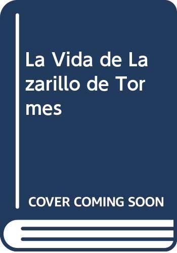9789500303576: La Vida de Lazarillo de Tormes