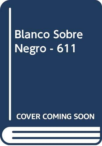 Blanco Sobre Negro - 611 (Spanish Edition) (9500305267) by Stephane Mallarme