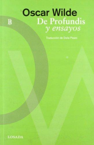 DE PROFUNDIS Y OTROS ENSAYOS: WILDE, OSCAR