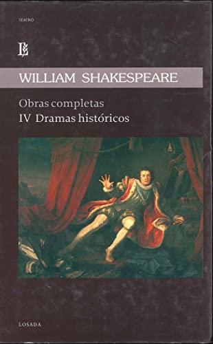9789500353458: Shakespeare. Obras Completas Iv Dramas Historicos