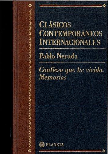9789500371414: Confieso Que He Vivido - Memorias: Memorias