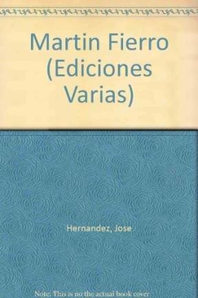 9789500377188: Martin Fierro (Ediciones Varias) (Spanish Edition)
