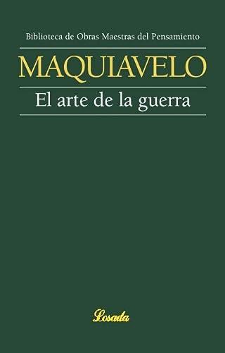 ARTE DE LA GUERRA, EL: MAQUIAVELO