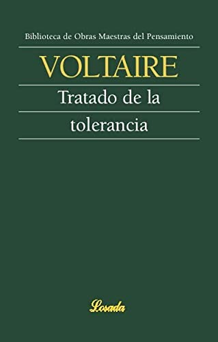 9789500378543: Tratado De La Tolerancia/treatise On Tolerance (Spanish Edition)