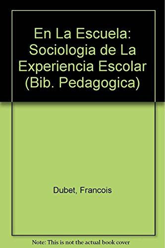 9789500383806: En La Escuela/ At School (Bib. Pedagogica) (Spanish Edition)