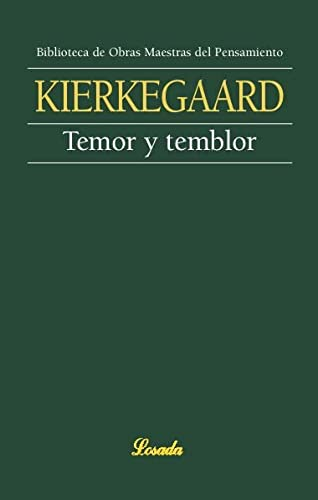 9789500392730: Temor Y Temblor/fear And Trembling (Spanish Edition)