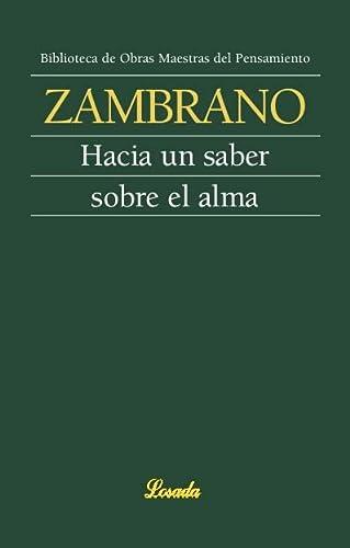 Hacia un saber sobre el alma (Spanish Edition): Maria Zambrano