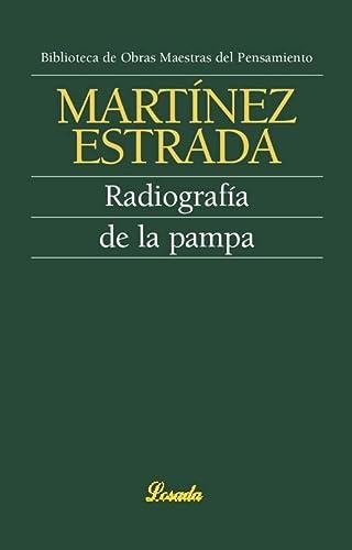 9789500394963: Radiografia de la pampa (Spanish Edition)