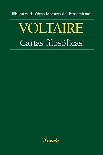 Cartas filosóficas [Paperback] by Editorial Losada: VOLTAIRE