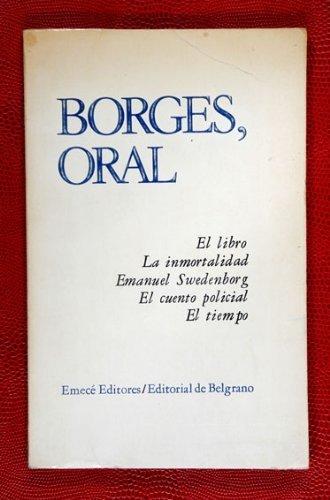 9789500401104: Borges, oral