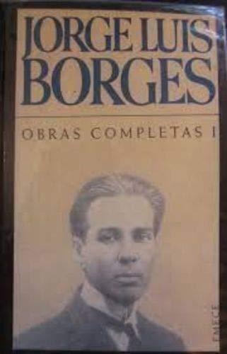 9789500409476: 1: Borges obras completas I
