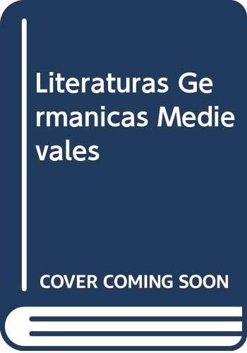 9789500416870: Literaturas Germanicas Medievales (Spanish Edition)