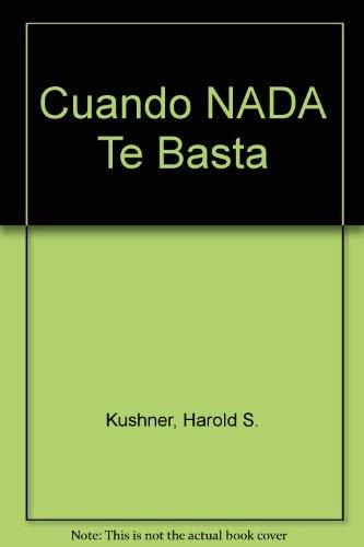 Cuando nada te basta (9500417219) by Kushner, Harold S.; Kushner, Harold