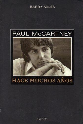 9789500419802: Paul McCartney: Hace Muchos Años