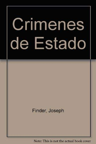 9789500420167: Crimenes de Estado (Spanish Edition)