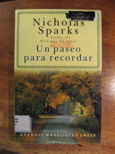 9789500421041: Un Paseo Para Recordar (Spanish Edition)