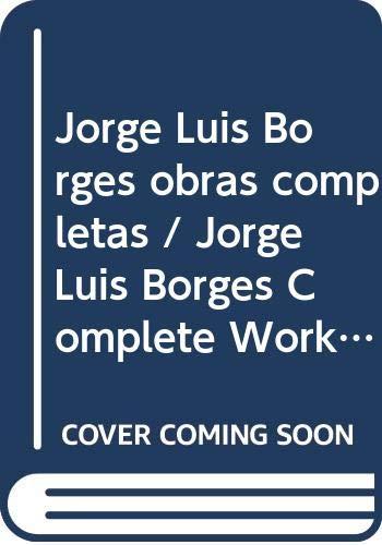 Obras Completas (Vol 2 of 4 Volumes) (Spanish Edition): Borges, Jorge Luis
