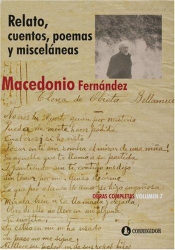 9789500504782: Relato, Cuentos, Poemas Y Miscelaneas (Spanish Edition)